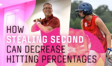 how stealing second can decrease hitting percentages