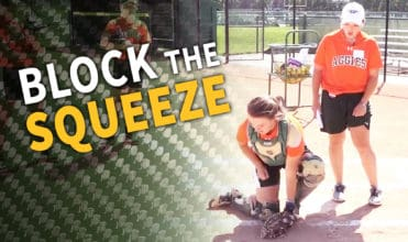 block the squeeze play