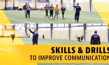 Outfield: Skills and drills to improve communication