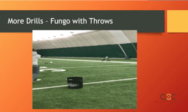 catching fungo