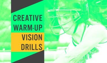 creative warm up vision drills
