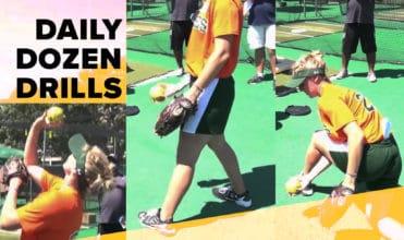 daily dozen softball pitcher drill