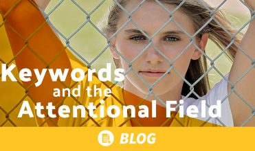 The attentional field