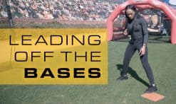 Jazmyn Jackson teaches proper way to lead off bases