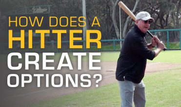 how does a hitter create options