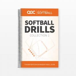 Softball Drill Book Cover