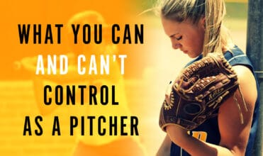 What can you control as a pitcher