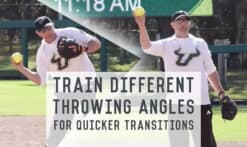 train different throwing angles