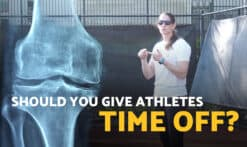 why you should give athletes time off