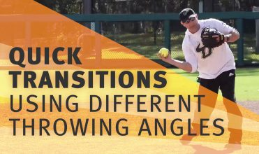 quick transitions using different throwing angles