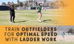 optimal speed with ladder work