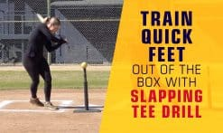 train quick feet for slapping